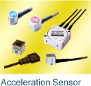 Acceleration transducers